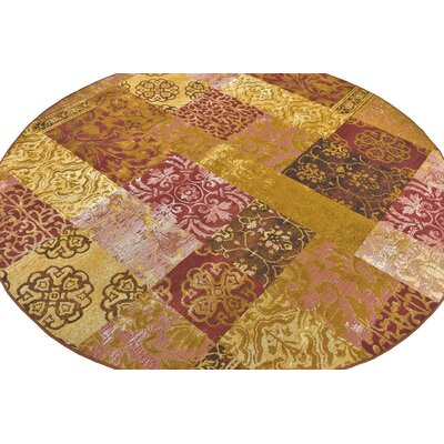 Victoria Gold Indoor/Outdoor Area Rug Rug Size: 4 x 6