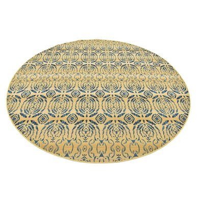 Victoria Beige Indoor/Outdoor Area Rug Rug Size: 53 x 8