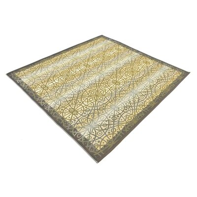 Victoria Beige Indoor/Outdoor Area Rug Rug Size: Square 6