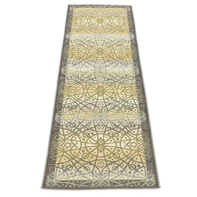 Jamie Traditional Beige Indoor/Outdoor Area Rug Rug Size: Runner 2 x 6