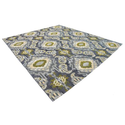 Victoria Blue Indoor/Outdoor Area Rug Rug Size: Rectangle 10 x 12