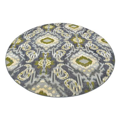 Victoria Blue Indoor/Outdoor Area Rug Rug Size: 53 x 8
