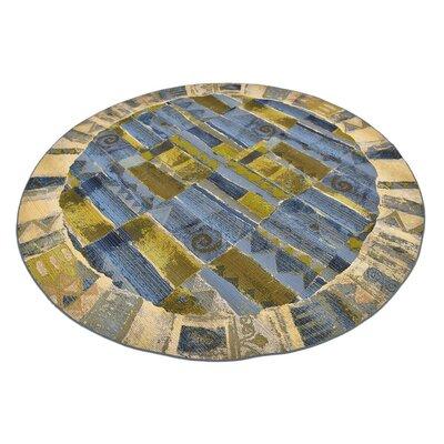 Victoria Blue Indoor/Outdoor Area Rug Rug Size: 53 x 8