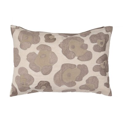 Sophia Animal Print Cotton Lumbar Pillow Color: Neutral
