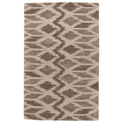 Jaimey Hand-Tufted Moon Mist/Aluminum Area Rug Rug Size: Rectangle 5 x 8
