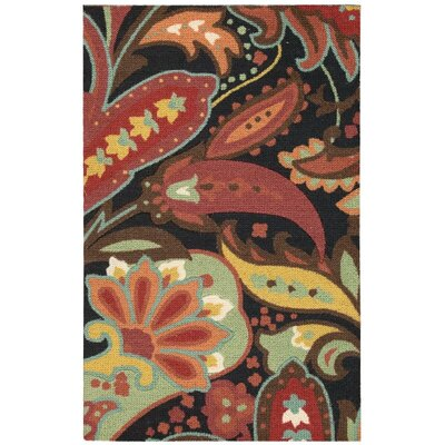 Cleo Red Area Rug
