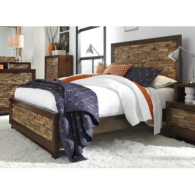 Adonia Panel Bed Size: King