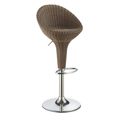 Monnicken Adjustable Height Bar Stool