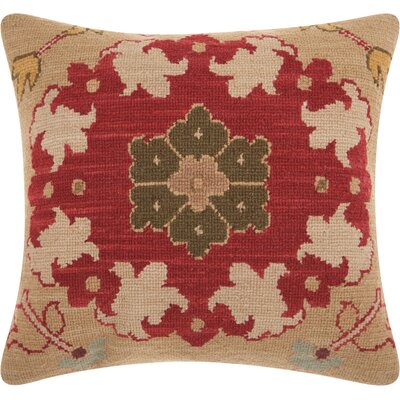 Riddle Wool Indoor Throw Pillow