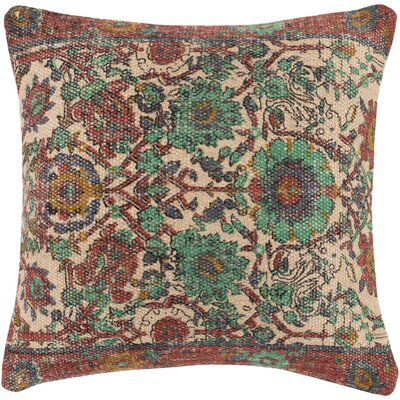 Zaqaria Contemporary Throw Pillow Size: 18 H x 18 W x 4 D, Fill Type: Polyester