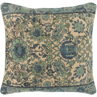 Zaqaria Square Throw Pillow Size: 20 H x 20 W x 4 D