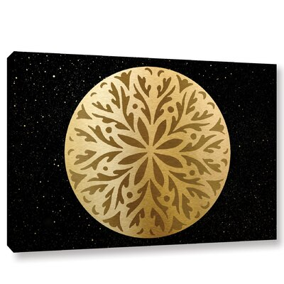 Golden Spheres 06 Graphic Art on Wrapped Canvas WDMG9362 34770109
