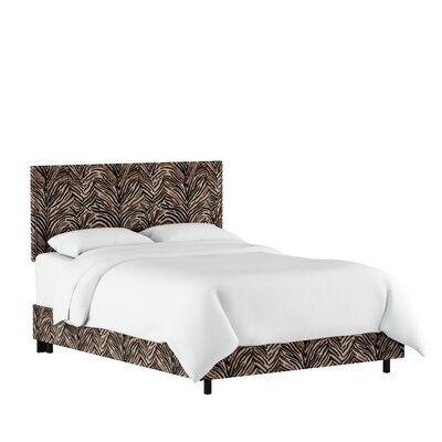 Genevie Upholstered Platform Bed Size: California King