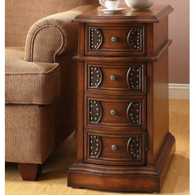 Nahil End Table With Storage