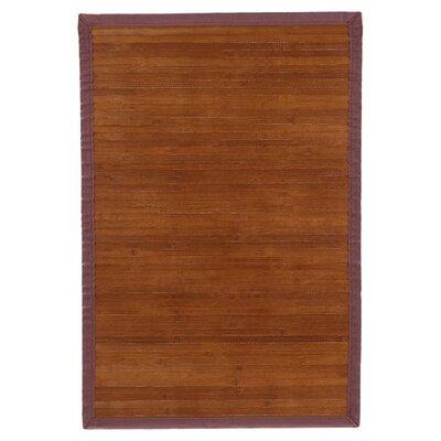 Govinda Chocolate Area Rug Rug Size: 6 x 9