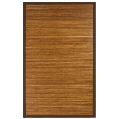 Govinda Chocolate Area Rug Rug Size: Rectangle 2 x 3
