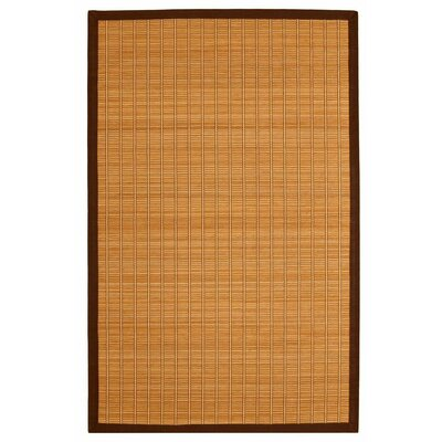 Govinda Brown Area Rug Rug Size: 4 x 6