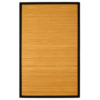 Govinda Natural Brown/Tan Area Rug Rug Size: Rectangle 6 x 9