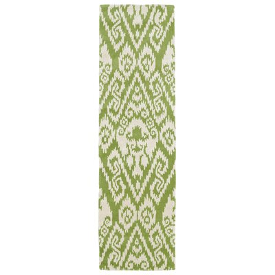 Roskilde Green Area Rug Rug Size: Rectangle 2 x 3