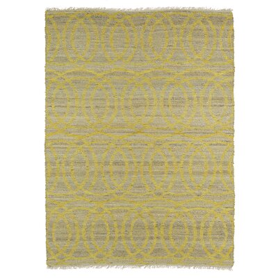 Jamaris Yellow Area Rug Rug Size: Rectangle 2 x 3