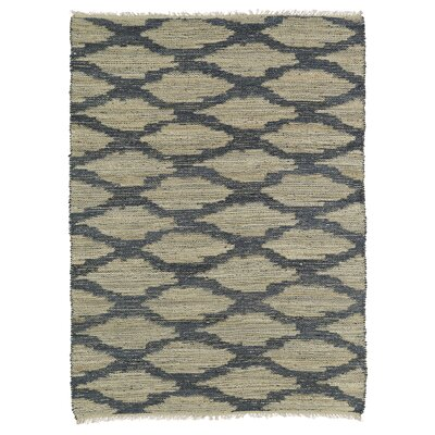 Jamaris Beige & Denim Area Rug Rug Size: Rectangle 76 x 9