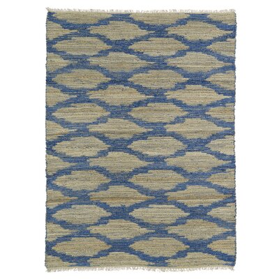 Jamaris Beige/Blue Area Rug Rug Size: Rectangle 8 x 11