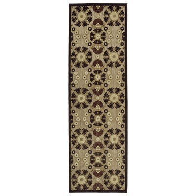 Mumtaz Machine Woven Indoor/Outdoor Area Rug Rug Size: Rectangle 5 x 76