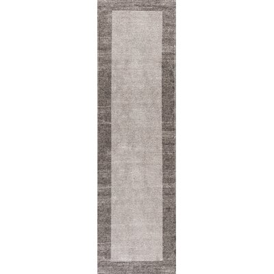Keanu Taupe/Brown Area Rug Rug Size: Runner 22 x 76