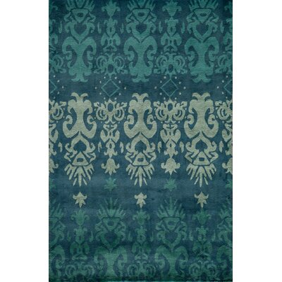 Elvera Hand-Tufted Blue Area Rug Rug Size: Rectangle 36 x 56