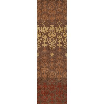 Elvera Hand-Tufted Brown Area Rug Rug Size: Runner 23 x 8