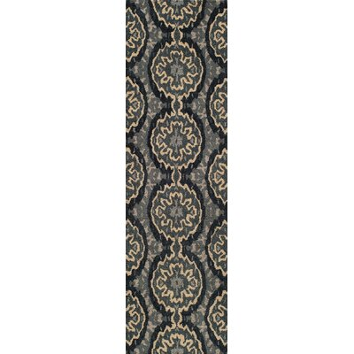 Elvera Hand-Tufted Gray Area Rug Rug Size: Runner 23 x 8