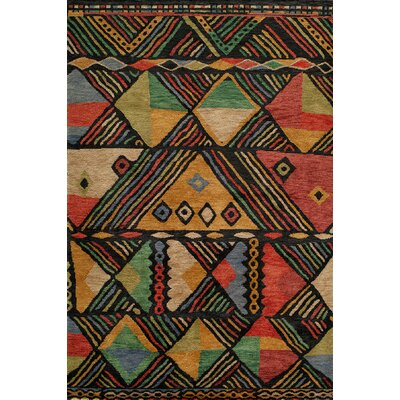 Zaria Hand-Knotted Rug Rug Size: Rectangle 8 x 11