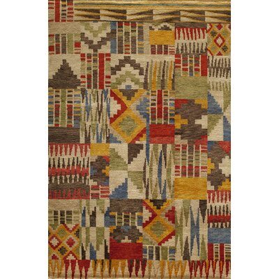 Zaria Hand-Knotted Rug Rug Size: Rectangle 56 x 86
