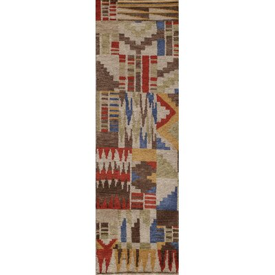 Zaria Hand-Knotted Rug Rug Size: Runner 23 x 8