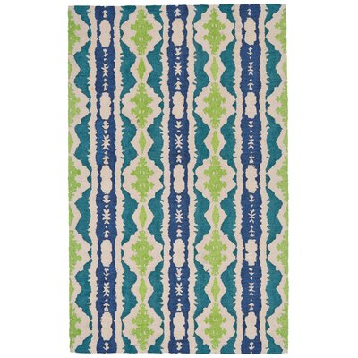 Allisin Hand Tufted Reef Indoor/Outdoor Area Rug Rug Size: 5 x 8
