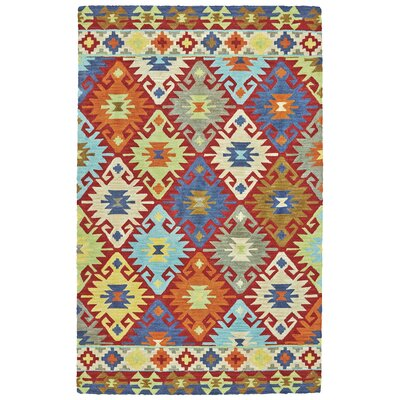 Farlend Hand Tufted Sunset Indoor/Outdoor Area Rug Rug Size: 36 x 56