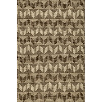 Highland Hand-Woven Gray Area Rug Rug Size: Rectangle 36 x 56