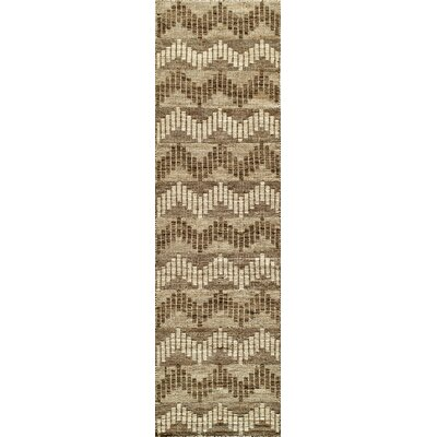 Highland Hand-Woven Gray Area Rug Rug Size: Runner 23 x 8