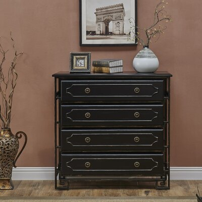 Tanaquil 4 Drawer Chest