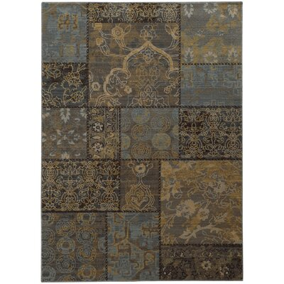 Gast Gray Area Rug Rug Size: Rectangle 53 x 76