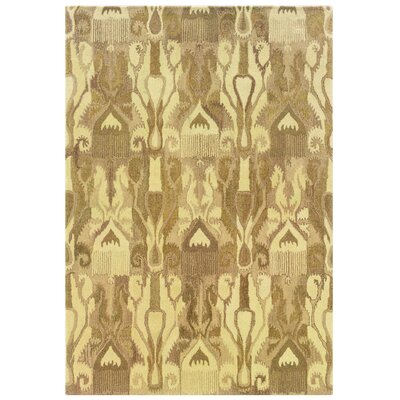 Rosen Hand-Woven Beige Area Rug Rug Size: Rectangle 5 x 8