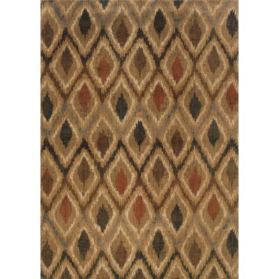 Johan Beige/Gray Area Rug Rug Size: Rectangle 67 x 96
