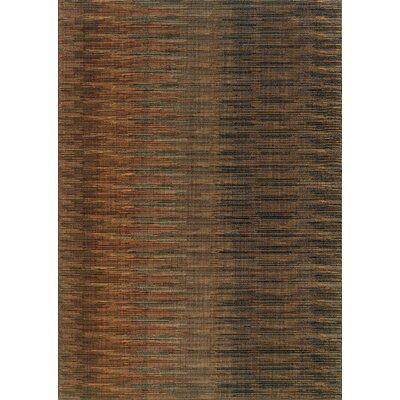 Johan Brown Area Rug Rug Size: 910 x 1210