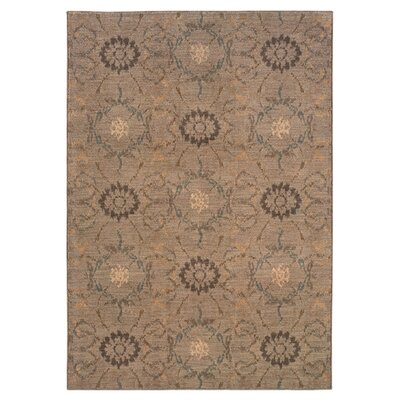 Sharyl Gray/Brown Area Rug Rug Size: Runner 111 x 76
