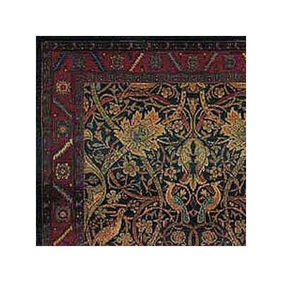 Rosabel Floral Red/Blue Area Rug Rug Size: Round 8