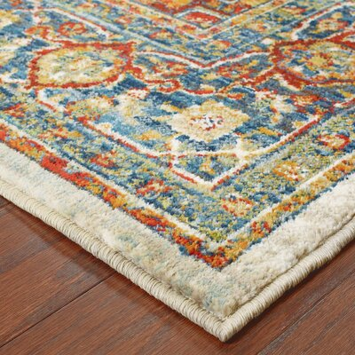 Knox Orange/Red Area Rug Rug Size: 310 x 55