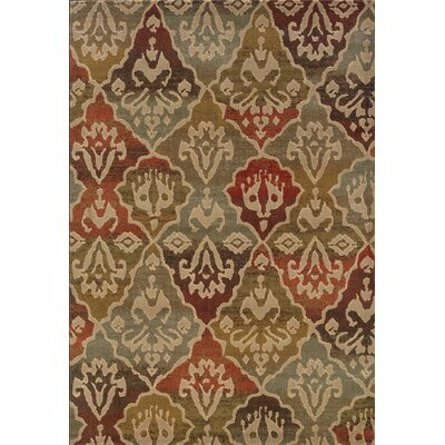 Solvang Beige Area Rug Rug Size: Rectangle 53 x 76