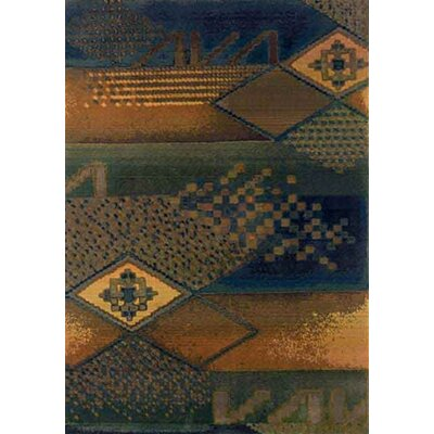 Nikolas Blue/Green Area Rug Rug Size: Runner 26 x 91