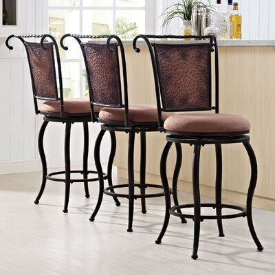 Konner 41.25 Swivel Counter Bar Stool