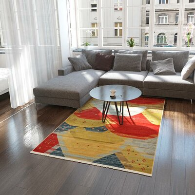 Foret Noire Area Rug Rug Size: 6 x 9